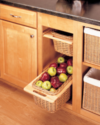 Rattan Wicker Basket storage 4WB-15I